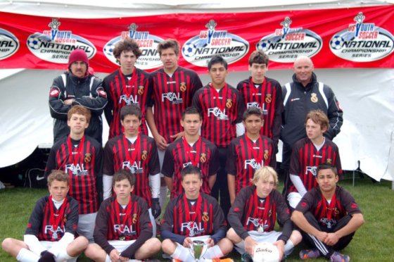 RBCF U15 Boys - State Cup Finalists - May 2011