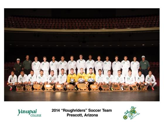 Juanjo Carmona de Ville, #14, upper row, 4th from the right. Fall 2014